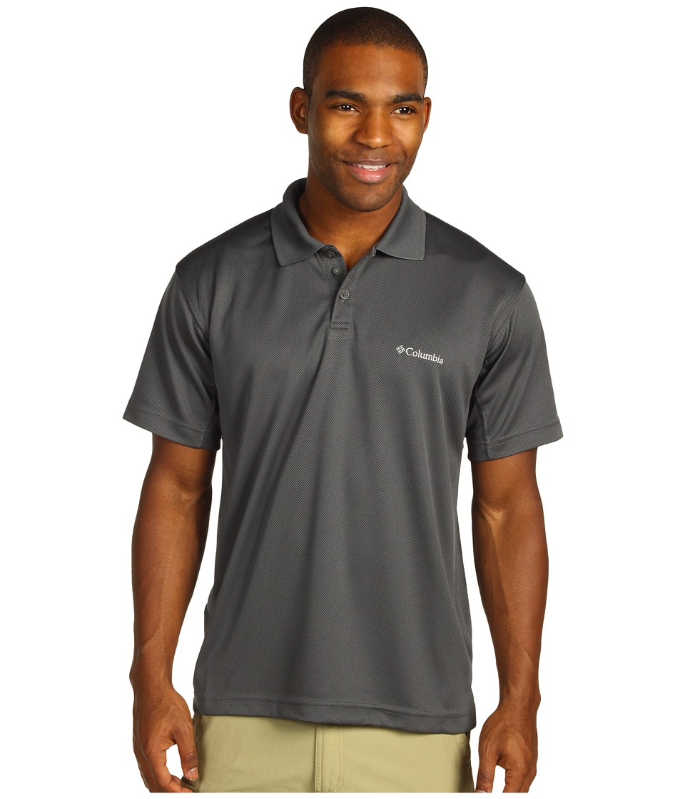 Columbia - New Utilizer Polo (Grill) Men's Short Sleeve Pullover