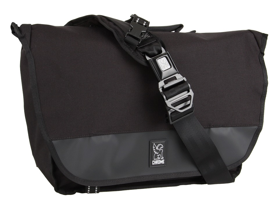 Chrome - Buran Laptop Messenger (All Black) Bags