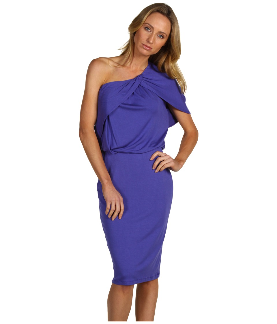 Robert Rodriguez - Draped One Shoulder Dress (Grape) Women