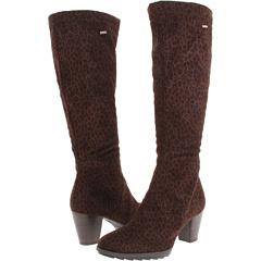 ara Tegan GORE TEX (Brown Leopard Suede Stretch) Footwear