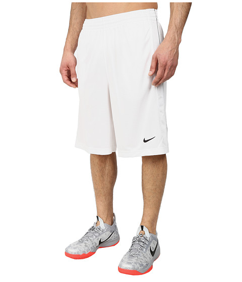 Nike - New Layup Short (White/White/Black/Black) Men