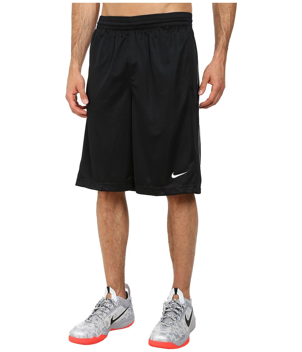 Nike - New Layup Short (Black/Black/White/White) Men