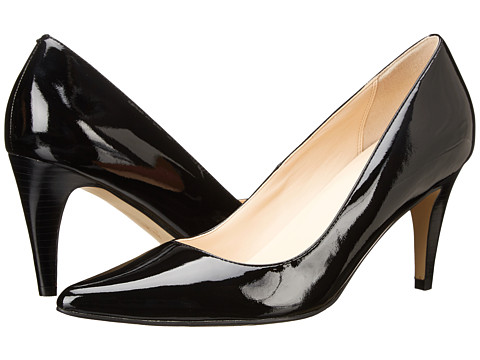 Cole Haan - Air Juliana Pump 75 (Black Patent) High Heels