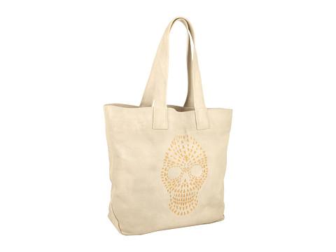 Frye - Skull Tote (Clay) Tote Handbags