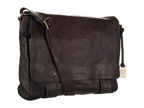 Frye - Logan Messenger (Chocolate) Messenger Bags