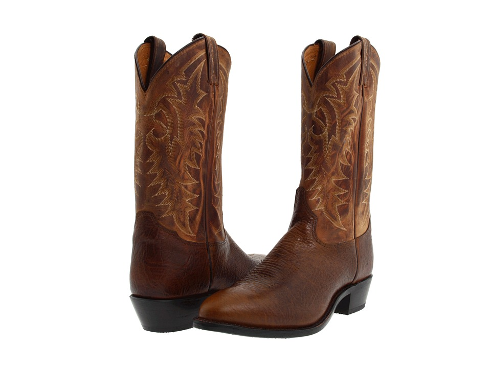 Tony Lama - 7938 (Cognac/Suntan) Cowboy Boots