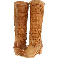 Frye Carmen Woven (Camel) Footwear