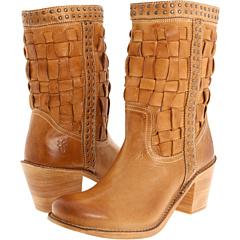 Frye Carmen Woven Short (Camel) Footwear