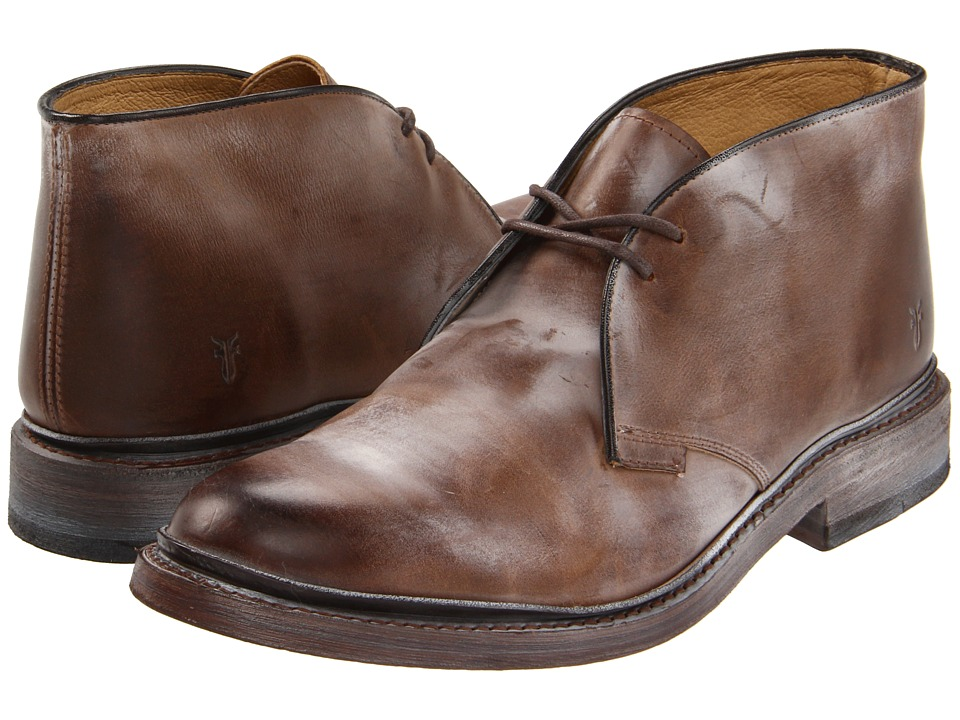 Frye - James Chukka (Tan/Antique Pull Up) Men