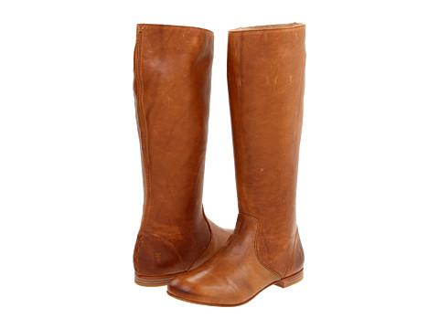 Frye - Jillian Pull On (Camel) Women's Zip Boots