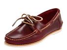 Frye - Quincy Boat Shoe (Burgundy Smooth Pull Up) - Footwear
