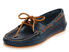 Frye - Quincy Boat Shoe (Blue Smooth Pull Up) - Footwear