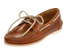 Frye - Quincy Boat Shoe (Camel Smooth Pull Up) - Footwear