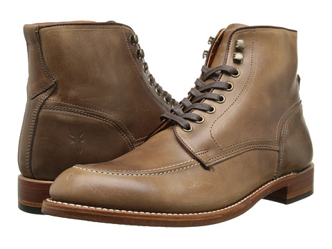 Frye - Walter Lace Up (Tan) Men's Boots