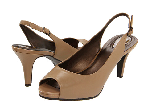 Trotters - Omega (Taupe) Women's Sling Back Shoes