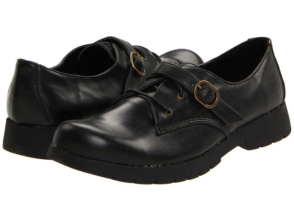 Dirty Laundry - Dominique Wax Out (Black) Women's Lace up casual Shoes