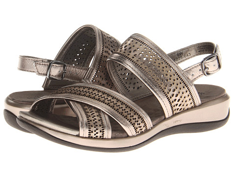 SoftWalk - Tribes (Pewter Metallic Leather) Women