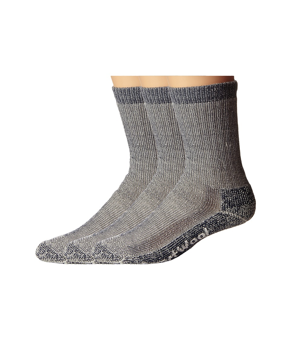 Smartwool - Trekking Heavy Crew 3-Pack (Navy) Crew Cut Socks Shoes