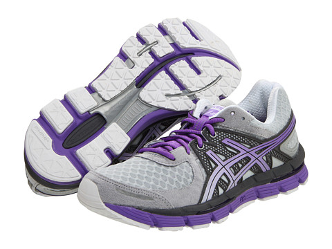 ASICS - GEL-Excel33 (Lightning/Storm/Neon Purple) Women's Running Shoes
