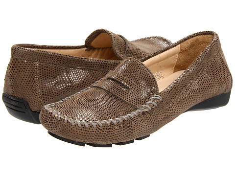 Vaneli - Ranon (Taupe Ecco E-Print Leather) Women's Slip on Shoes