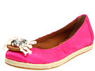 Juicy Couture - Gina (Pop Pink Satin) - Footwear