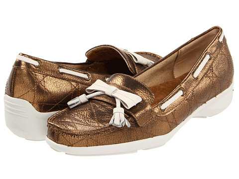 Trotters - Zoe (Bronze) Women's Shoes
