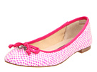 Juicy Couture - Rickey (Pop Pink Snake Print/Pop Pink Grosgrain) - Footwear
