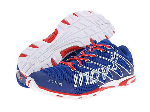 inov-8 - F-Lite 195 W/RopeTec (Blue/Red) Running Shoes