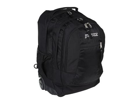 JanSport - Driver 8 Wheeled (Black) Backpack Bags