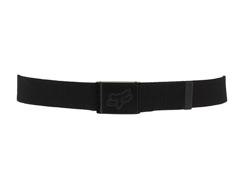 Fox - Mr. Clean Web Belt (Big Kids) (Black) Men's Belts