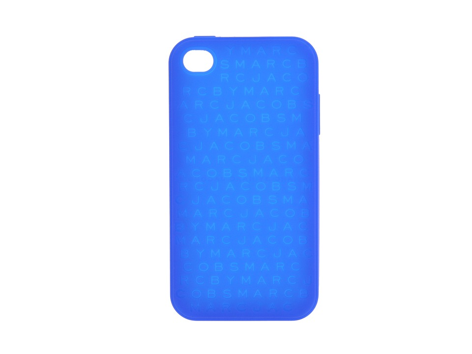 Marc by Marc Jacobs - Logo Cartridge Phone Case (Cobalt Blue) Cell Phone Case
