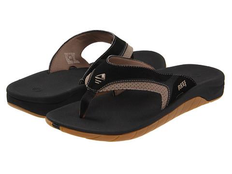 Reef - Reef Slap II (Black/Tan) Men's Sandals