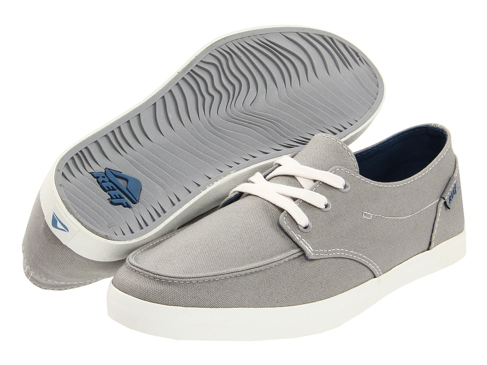 Reef - Deck Hand 2 (Light Grey) Men's Lace up casual Shoes