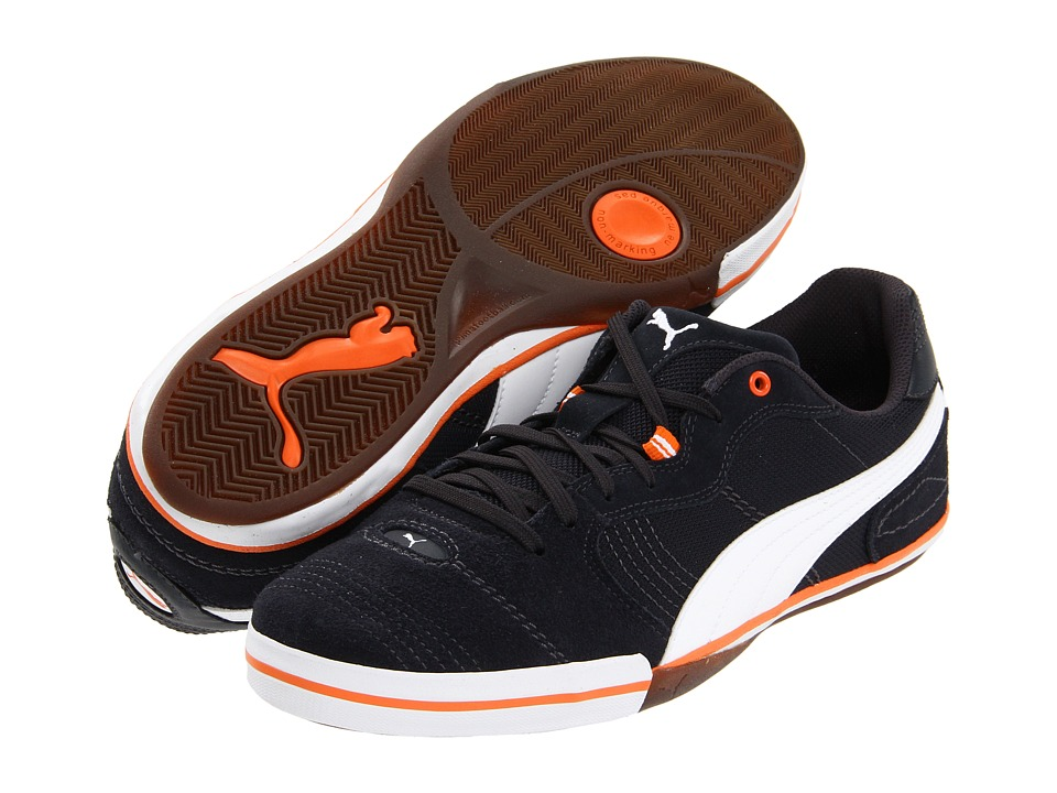 PUMA - Esito Vulc Sala (Dark Navy/White/Team Orange) Shoes