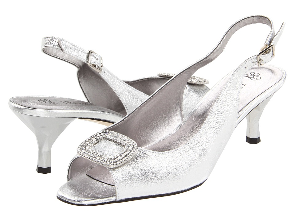 J. Renee Classic (Silver Metallic Nappa Leather) Women