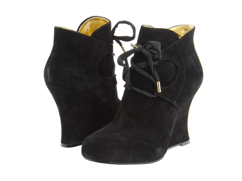 Nine West - Bracey (Black Suede) Women's Dress Boots