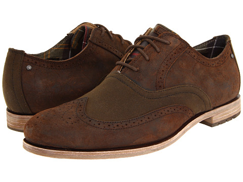 Rockport - Barbour Wing Tip (Raiz/Sage) Men