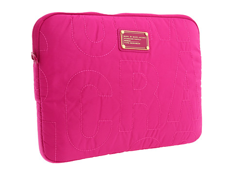 Marc by Marc Jacobs - Pretty Nylon 13 Computer Case (Fuchsia) Computer Bags