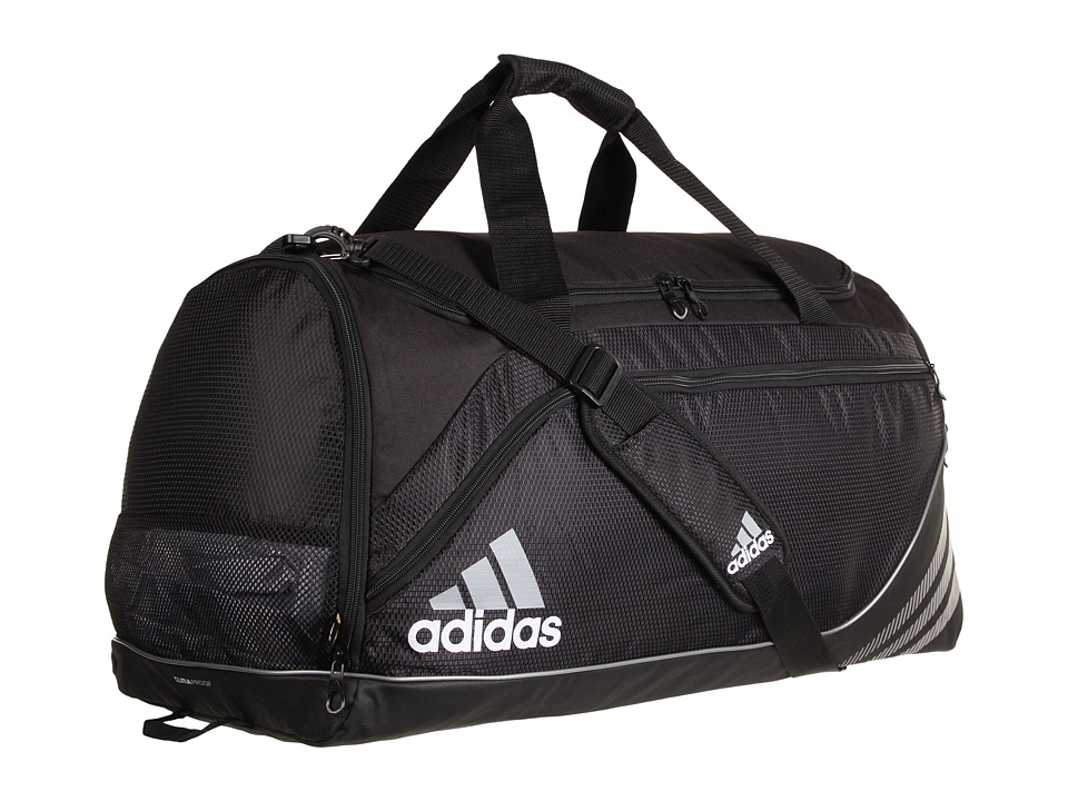 adidas - Team Speed Duffel - Large (Black) Duffel Bags