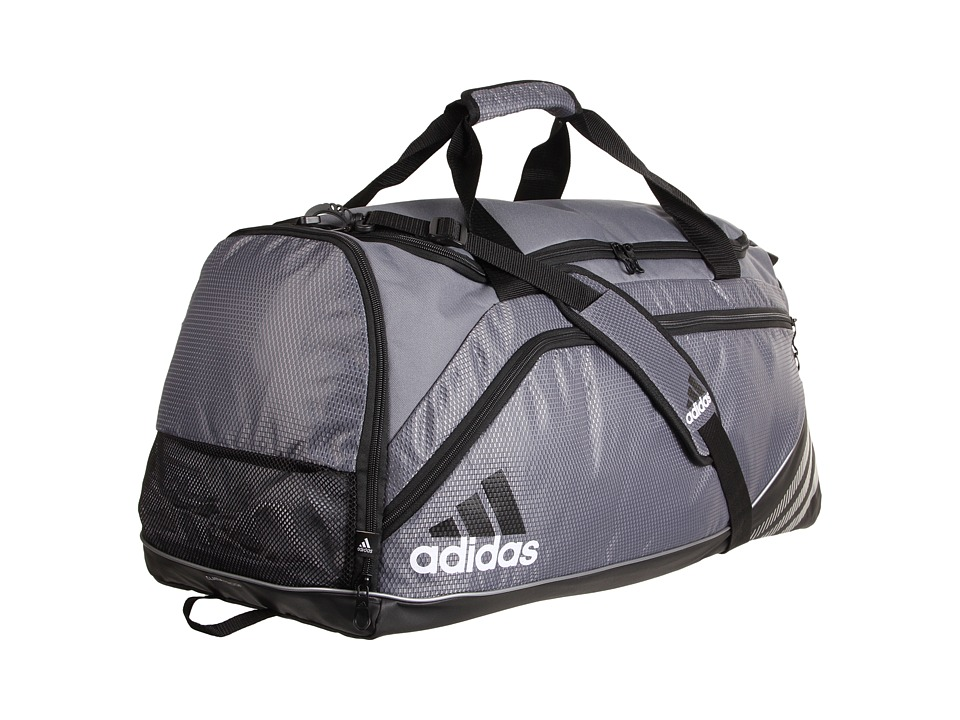 adidas - Team Speed Duffel - Large (Lead) Duffel Bags