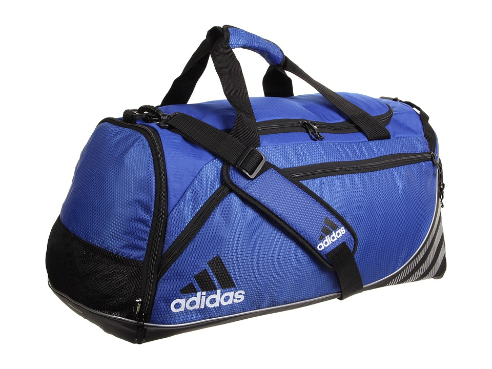adidas - Team Speed Duffel - Medium (Cobalt/Black) Duffel Bags
