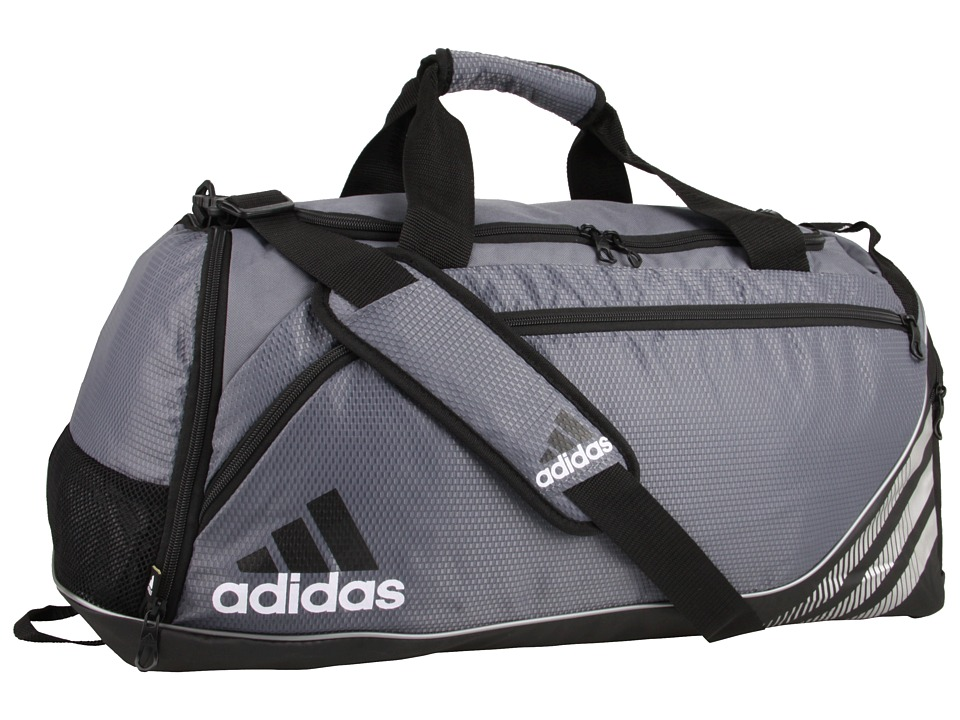 adidas - Team Speed Duffel - Medium (Lead/Black) Duffel Bags