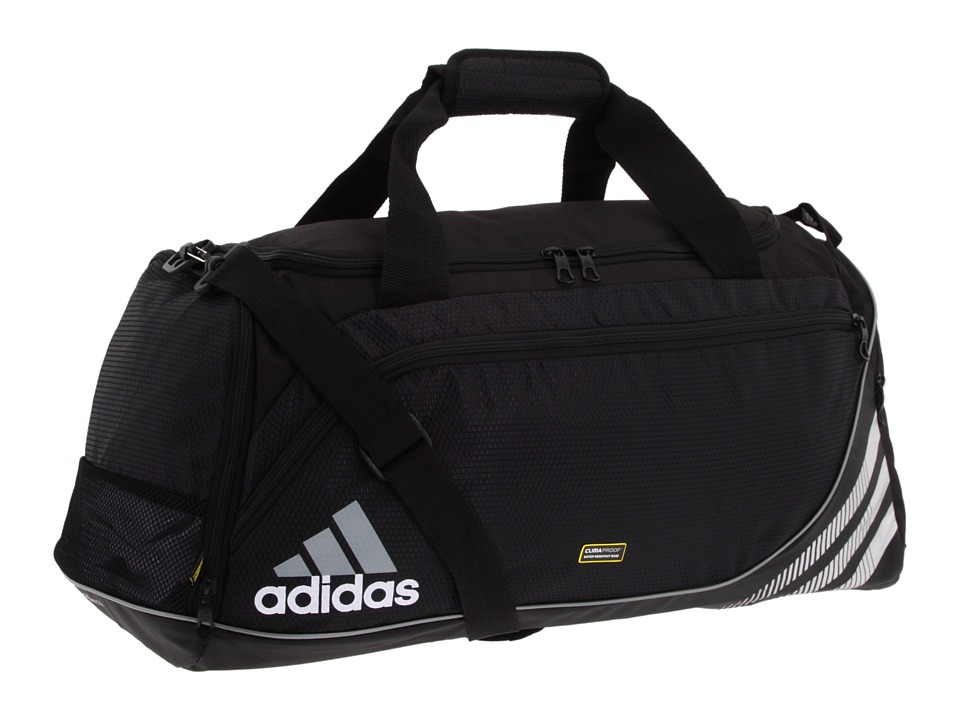 adidas - Team Speed Duffel - Medium (Black) Duffel Bags