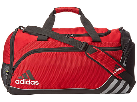 adidas - Team Speed Duffel - Medium (University Red/Black) Duffel Bags