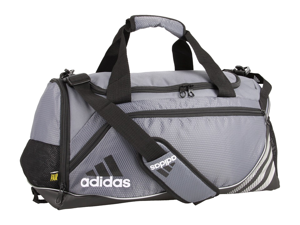 adidas - Team Speed Duffel - Small (Lead) Duffel Bags
