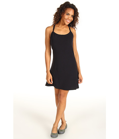 Prana - Quinn Short Length Dress (Black) Women's Dress
