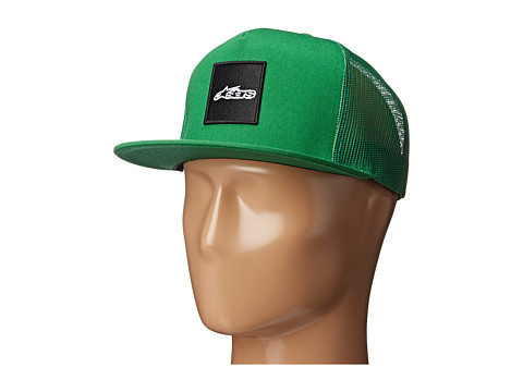 Alpinestars - Trimmed Trucker (Green) Caps
