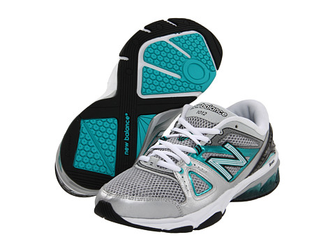 New Balance - WX1012 (Silver) Women's Shoes