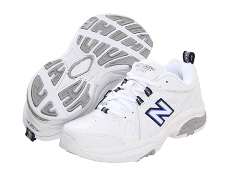 New Balance - WX608v3 (White/Navy) Women's Cross Training Shoes
