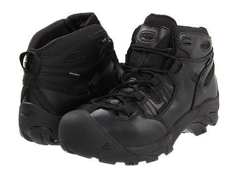 Keen Utility - Detroit Mid Soft Toe (Night) Men's Work Boots